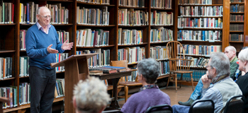 The Leeds Library holds regular events for its members.